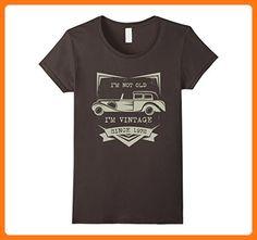 Womens i'm not old i'm just vintage 1972 Funny 45th Birthday Tshirt Large Asphalt (*Partner Link)