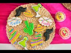 Cómo Decorar Galletas para Fiesta Mexicana   5 de Mayo   Royal Icing