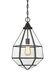 The Savoy House Europe Austen pendant collection draws style inspiration from the idea of a faceted jewel, then adds a cool industrial twist with thin framing and large glass panels. Finished in English bronze.  The Austen collection consists of 1 Light Pendant and 3 Light Pendant   #SavoyHouse #AustenCollection #LightingFront #pendantlighting #lightingfixtures