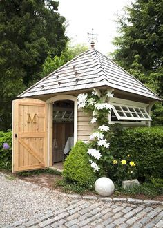 Shed Plans - 9 Attractive Garden Sheds | This Potting Shed has style and function. - Now You Can Build ANY Shed In A Weekend Even If You've Zero Woodworking Experience!