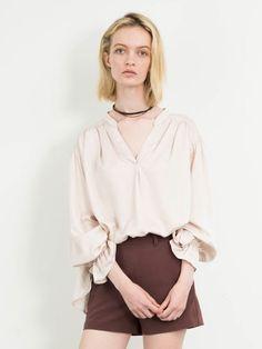 ブラウジングスリーブブラウス(ブラウス)|snidel(スナイデル)|ファッション通販|ウサギオンライン公式通販サイト