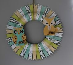 How To Make A Woodland Wreath / Daily inspiration from our bloggers