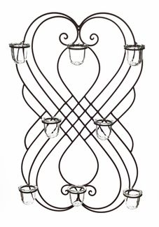 Wall accents based upon #antique #gate #designs bring the beauty home!