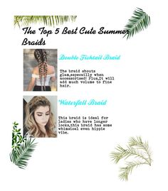 A fashion look from August 2017 featuring plait headband and Chicas Fashion. Browse and shop related looks. Summer Braids, Hippie Vibes, Plait, Fishtail, Cute Hairstyles, Waterfall, Hair Styles, Polyvore, Fish Tail