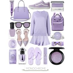 How To Wear I Lavender got a Clue Outfit Idea 2017 - Fashion Trends Ready To Wear For Plus Size, Curvy Women Over 20, 30, 40, 50