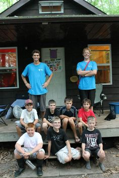 Cabin Group at Camp Kitchi Number Two, More Photos, Wrestling, Camping, Group, Sports, Summer, Lucha Libre, Sport