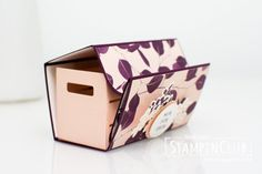 Stampin' Up!, StampinClub, Kraft der Natur, Rooted in Nature, Holzkiste,Wood Crate