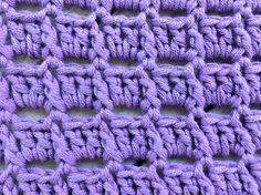 Free Crochet Pattern - Lavender Dreams Washcloth