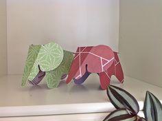 Bellas bedrifter: Elefanter á la Eames...