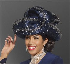 2b7c39d82 349 Best Church Lady Hats images in 2013 | Women's hats, Turbans ...