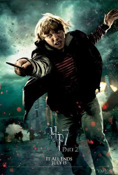 Harry Potter and the Deathly Hollows part 2 - Ronald Weasley