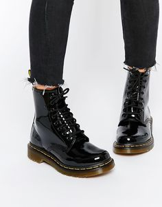 Image 1 ofDr Martens Modern Classics 1460 Patent 8-Eye Boots