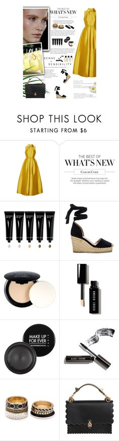 """""""Untitled #2648"""" by amimcqueen ❤ liked on Polyvore featuring Merchant Archive, Bobbi Brown Cosmetics, Raye, NYX, MAKE UP FOR EVER, Chanel, Forever 21 and Fendi"""