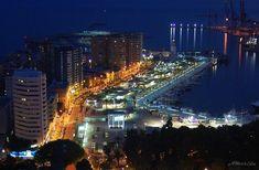Muelle Dos del puerto de Málaga (Spain)