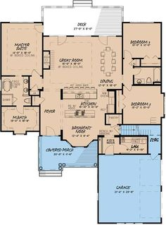 Main Floor Plan: 12-1414