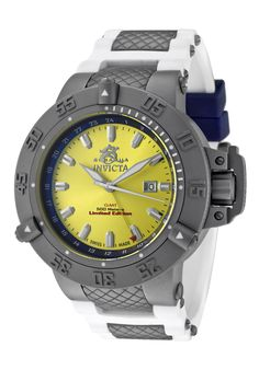 Price:$397.99 #watches Invicta 1588, With a bold, masculine design, Invicta chronograph has a poised and calm ambience that's sure to have you looking twice.