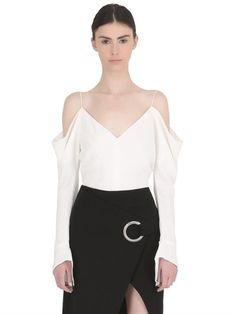 CAMEO - OFF SHOULDER TOP - WHITE