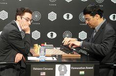 Caruana-Anand (Photo taken from chess-news. Chess