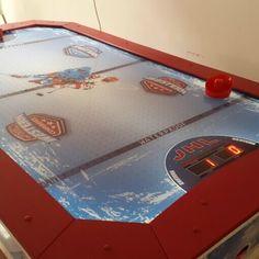 Jakar Ice Hockey léghoki asztal Ice Hockey, Poker Table, Furniture, Home Decor, Decoration Home, Room Decor, Home Furnishings, Home Interior Design, Hockey Puck