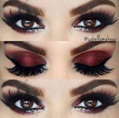 Beautiful eyes make up – # Beautiful - Makeup Tutorial Smokey Cute Makeup, Prom Makeup, Wedding Makeup, Makeup Looks, Gorgeous Makeup, Smokey Eye Makeup, Skin Makeup, Makeup Eyeshadow, Eyeshadow Palette