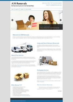 Removal Company Website Design