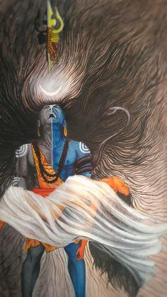 Shiva before the Tandava with dead Sati in his arms. Shiva Shakti, Shiva Parvati Images, Rudra Shiva, Mahakal Shiva, Shiva Statue, Durga Maa, Krishna Images, Lord Hanuman Wallpapers, Lord Shiva Hd Wallpaper