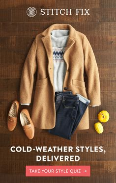 Let a Stitch Fix Personal Stylist hand-select and deliver clothes that match your taste, size & budget. Try pieces on at home, keep your favorites and send back the rest. Shipping, returns & exchanges are always free. Plus, there's no subscription required. Sign up now and make this your most stylish season yet. Clothing Stores, Kids Clothing, Clothing Basics, Casual Outfits, Winter Outfits, Cute Outfits, Fashion Tips, Fashion Beauty, Fashion Outfits