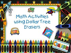 Classroom Freebies: Transportation and Outer Space Math Workstations