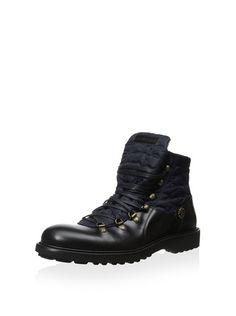 Roberto Cavalli Men's Gordon Lace-Up Mixed Material Boot, http://www.myhabit.com/redirect/ref=qd_sw_dp_pi_li?url=http%3A%2F%2Fwww.myhabit.com%2Fdp%2FB00JJHUR80