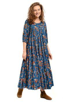 Modest Dresses, Maternity Dresses, Casual Dresses, Hijab Fashion, Boho Fashion, Fashion Dresses, Night Gown Dress, Moda Hippie, Modele Hijab