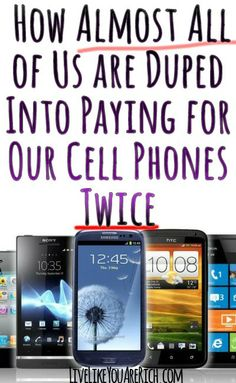 Are you paying for your phone twice?  Find out here...