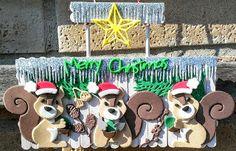 La Città di Carta: Natale dei scoiattoli - Eichhörnchen Weihnacht