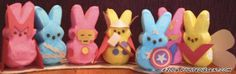 Geeky Peeps Dioramas for a Strange and Sugary Easter Weekend