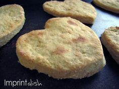 Homemade Teething Biscuits. Great way to use leftover baby cereal.