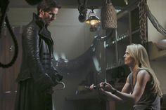 I loved the scenes between Captain Hook and Emma in last night's season 3 premiere of Once Upon a Time. Captain Swan, Captain Hook, Dark Swan, Fall Tv, Time News, Hook And Emma, Tv Reviews, Season Premiere, Colin O'donoghue