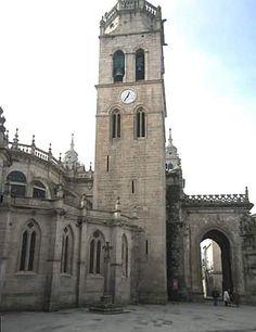 Cabecera y torre de la catedral de Lugo
