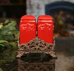CLASSIC RED SALT & PEPPER SET sold @King Hardware and Gifts