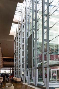 Truss | Enclos Facade Engineering, Architectural Engineering, Architectural Elements, Curtain Wall Detail, Glass Curtain Wall, Glass Structure, Steel Structure, Glass Wall Systems, Retail Facade