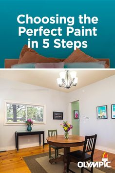 Picking the perfect paint color and finish can be intimidating. Learn some tips to pick a paint that will last for years to come.