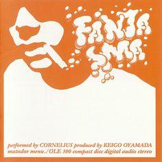 Cornelius - Fantasma (1997).  Artwork – Masakazu Kitayama, Mitsuo Shindo.