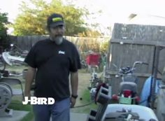 Check out J-Bird's backyard in The Harbortown Bobber. This film and more available at www.choppertown.com/?utm_content=bufferb9af3&utm_medium=social&utm_source=pinterest.com&utm_campaign=buffer