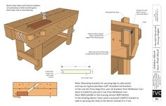 Arts And Crafts Knockdown Bench
