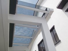 Balcony Design, Roof Design, House Design, Steel Roofing, Tin Roofing, Roofing Shingles, Modern Roofing, Porch Roof, Roof Colors