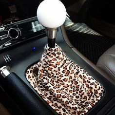 Great idea to keep dust off the stick. Love the leopard print too! Sew one up--easy!