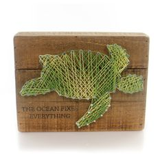 The Ocean String Art Sign / Plaque