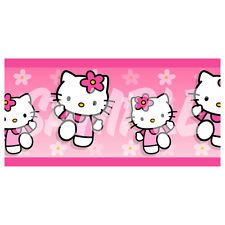 Wall Border Set - HELLO KITTY - 16 ft x 6 in - Decal Sticker