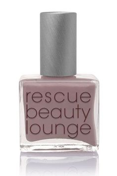 """Everyone's Favorite Indie Nail Polish Brand Is Shutting Down  #refinery29  http://www.refinery29.com/2015/11/97015/rescue-beauty-lounge-closing#slide-6  """"It took so long to perfect the taupe for my people,"""" says Baek, about this Grunge shade. """"[It's] full of depth, intellect, moonlit conversation cocooned in most-loved cashmeres with [a] glass of Margaux, but still [has] that badassery adult job to do tomorrow feel."""" ..."""