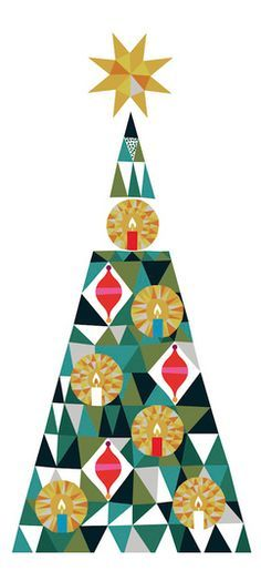 Christmas tree - Sanna Annukka designs