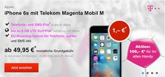 Telekom Magenta Mobil M mit TOP Smartphone ab 1€ http://www.simdealz.de/telekom/magenta-mobil-m-mit-handy/
