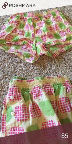 Cute Apple PJs Like new! Pajamas Pajama Bottoms